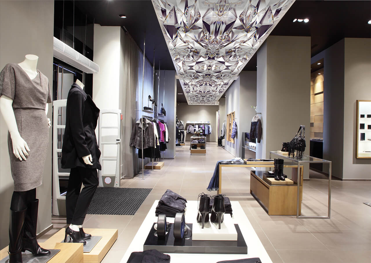 Funtional-art---retail-stretch-ceiling-lighting