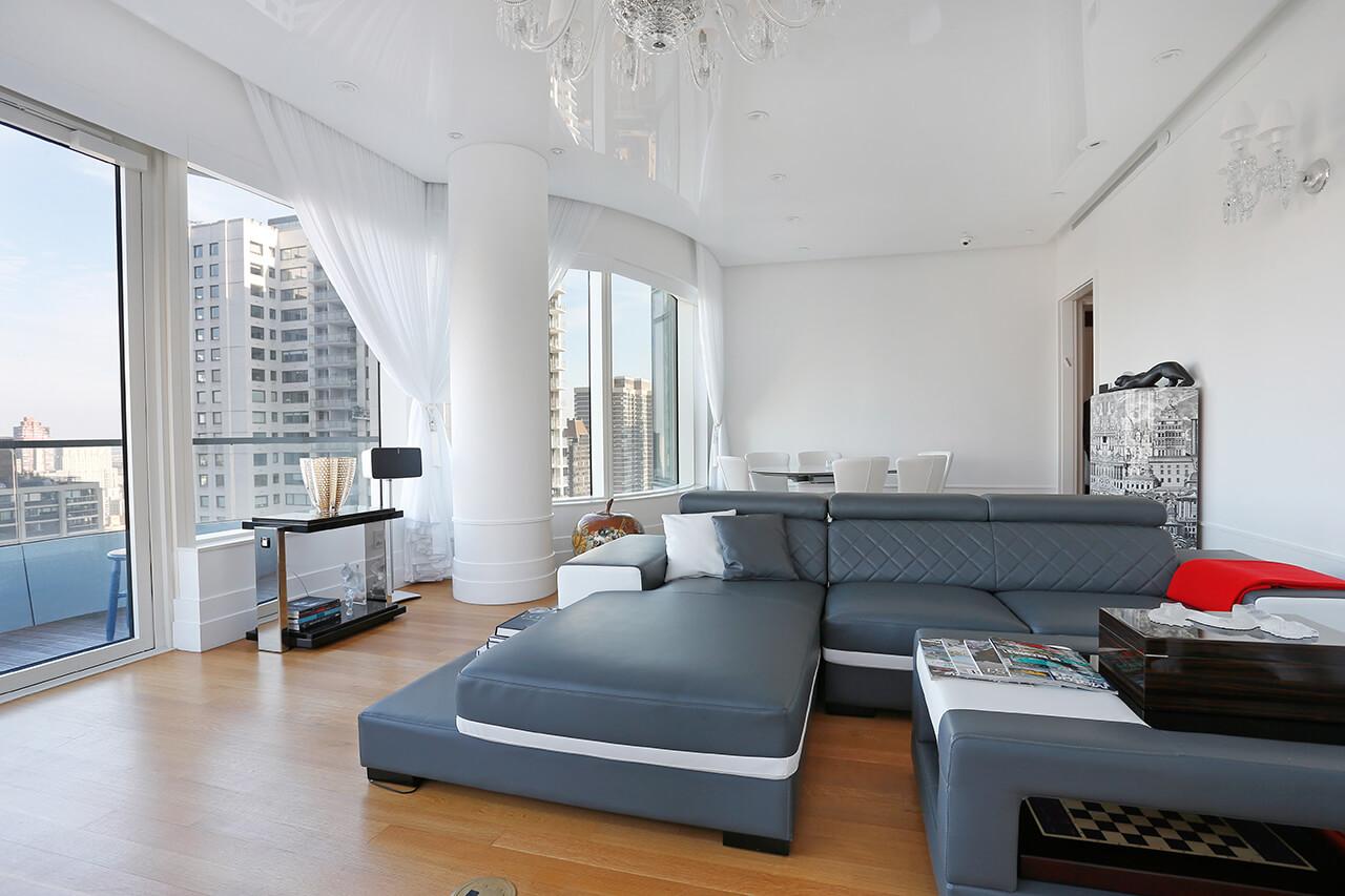 high-gloss-white-PVC-stretch-ceiling_Lexington_NYC-4